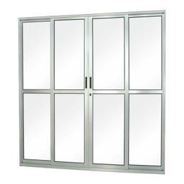 Porta de Correr Alumínio 4 Folhas - Seminova