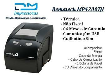 Impressora Térmica Bematech Mp4200th (usb) - Cupom Não Fiscal